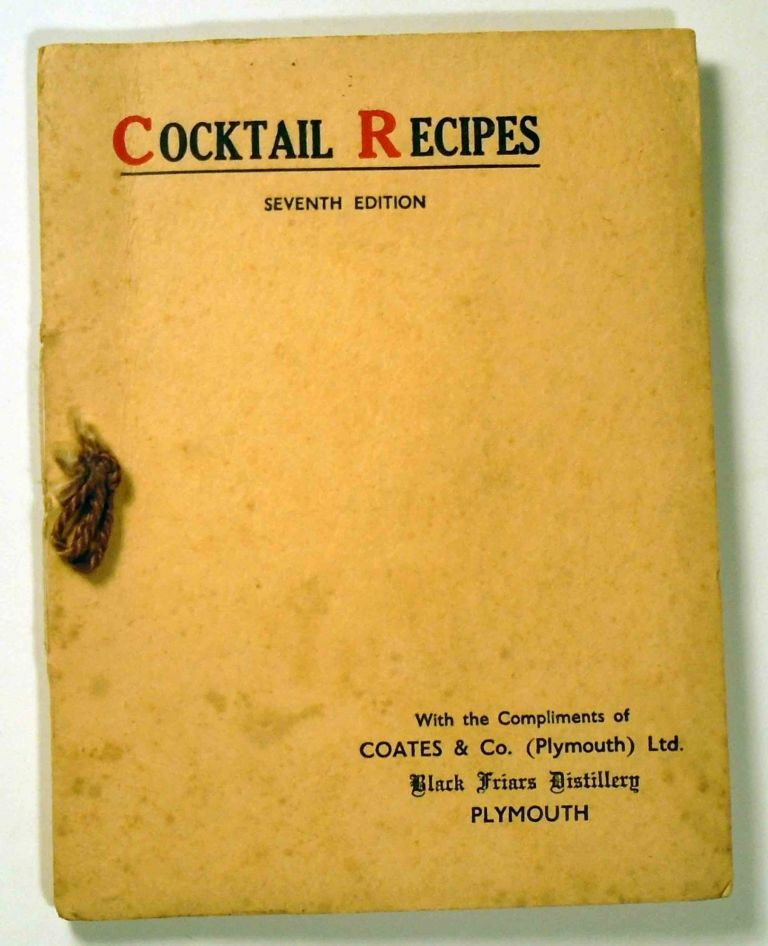 Cocktail Recipes. COATES AND CO.
