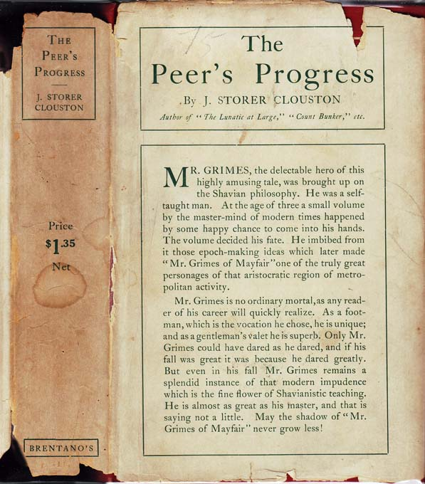 The Peer's Progress. J. Storer CLOUSTON.