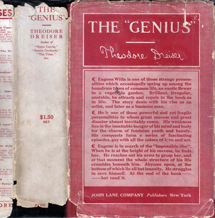 "The ""Genius"". Theodore DREISER"