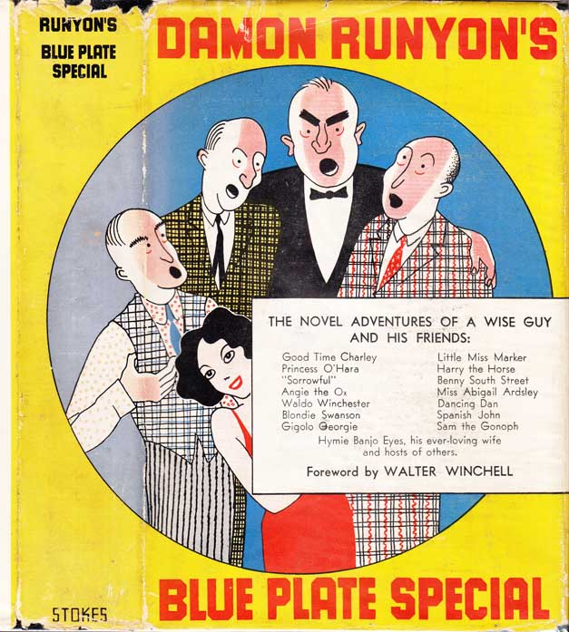 Blue Plate Special. Damon RUNYON.