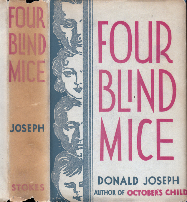 Four Blind Mice. Donald JOSEPH.