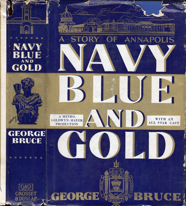 Navy Blue and Gold. George BRUCE