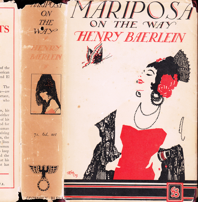 Mariposa on the Way. Henry BAERLEIN.