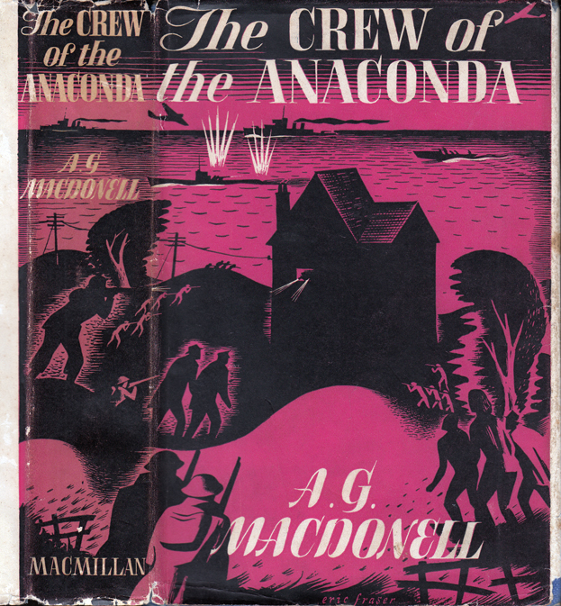 The Crew of the Anaconda. A. G. MACDONELL, Archibald Gordon