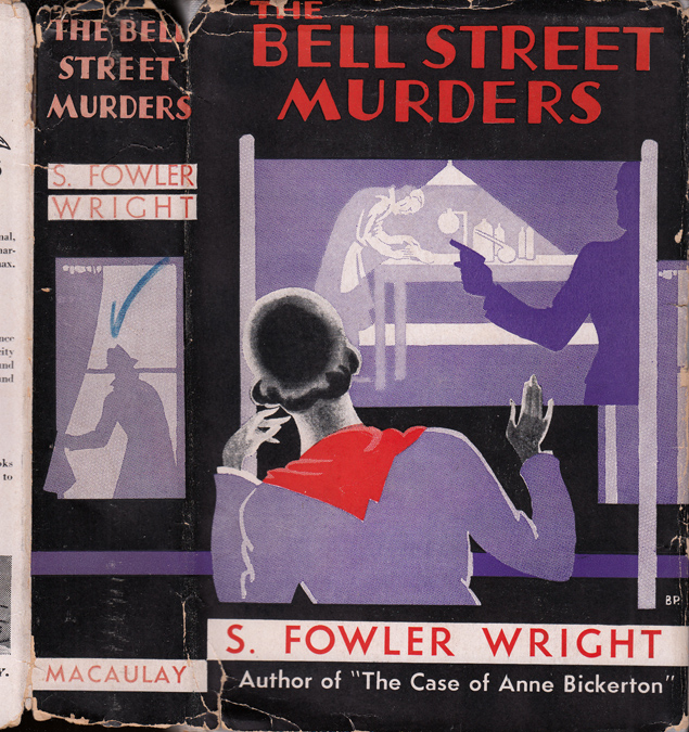 The Bell Street Murders [HOLLYWOOD FICTION]. S. Fowler WRIGHT