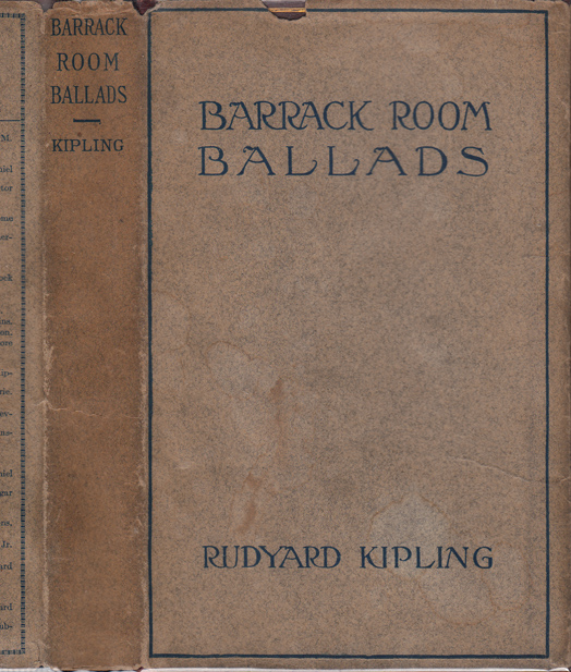 Barrack-Room Ballads and the Story of the Gadsbys. Rudyard KIPLING