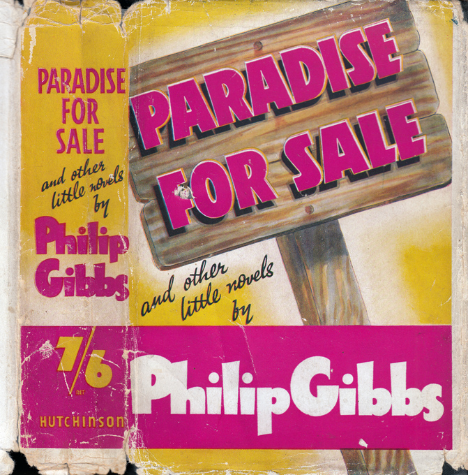 Paradise for Sale and Other Little Novels. Philip GIBBS
