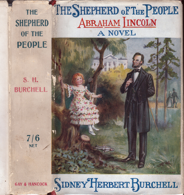 The Shepherd of the People, Abraham Lincoln. Sidney Herbert BURCHELL