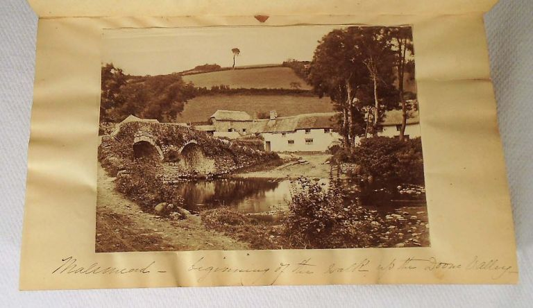 Lorna Doone and Can You Forgive Her [With Five 4 by 6 inch sepia toned photographs of landmarks...