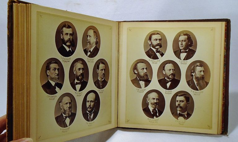 Massachusetts House of Representatives 1877 Yearbook Photographs. MASSACHUSETTS.
