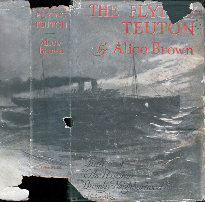 The Flying Teuton and Other Stories. Alice BROWN