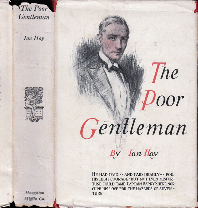 The Poor Gentleman [BLIND FICTION]. Ian HAY, Sir John Hay Beith
