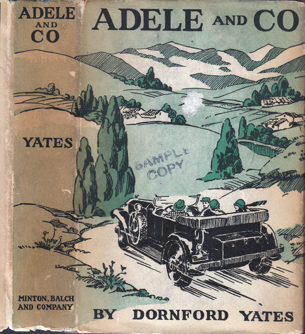 Adele and Co. Dornford YATES