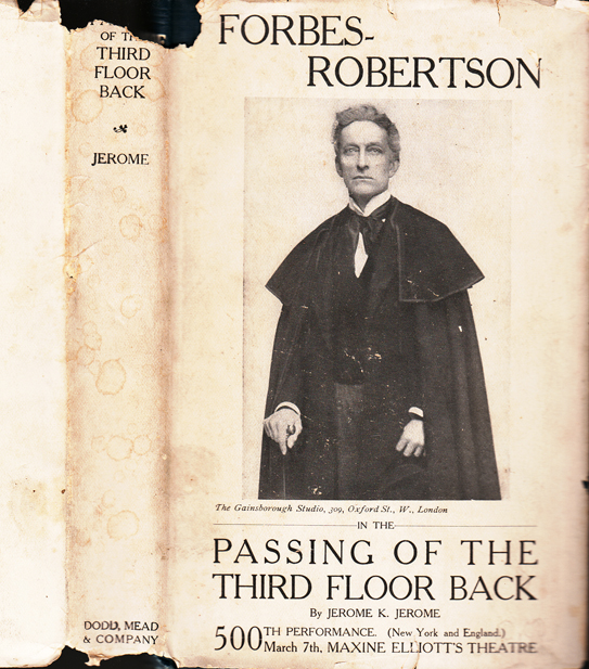 Passing of the Third Floor Back. Jerome K. JEROME