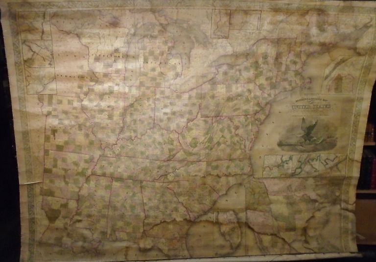 Mitchell's Reference & Distance Map of the United States. J. H. YOUNG.