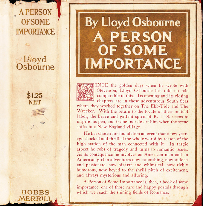 A Person of Some Importance. Lloyd OSBOURNE