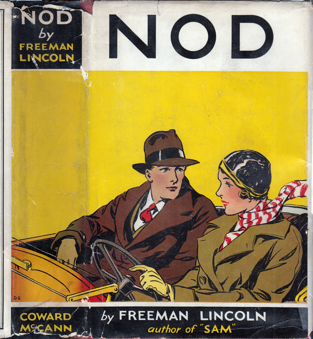 NOD [INSCRIBED AND SIGNED]. Freeman LINCOLN