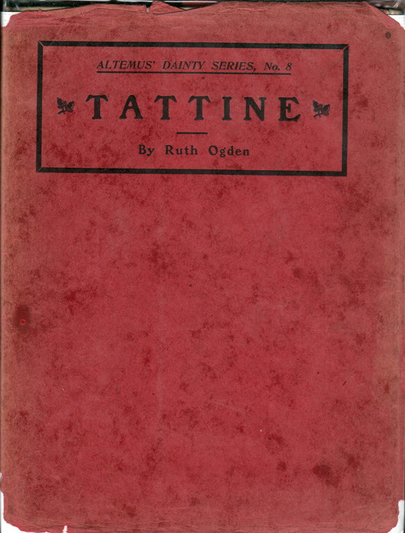 Tattine. Ruth OGDEN