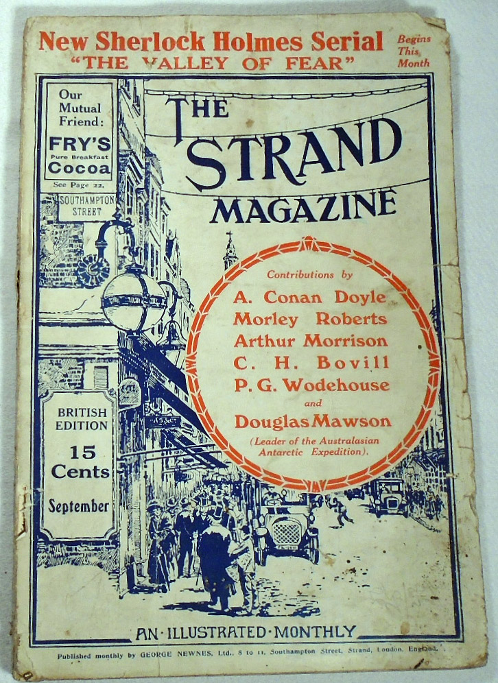 The Valley of Fear, Part I, The Tragedy of Birlstone, as printed in The Strand Magazine, Volume...
