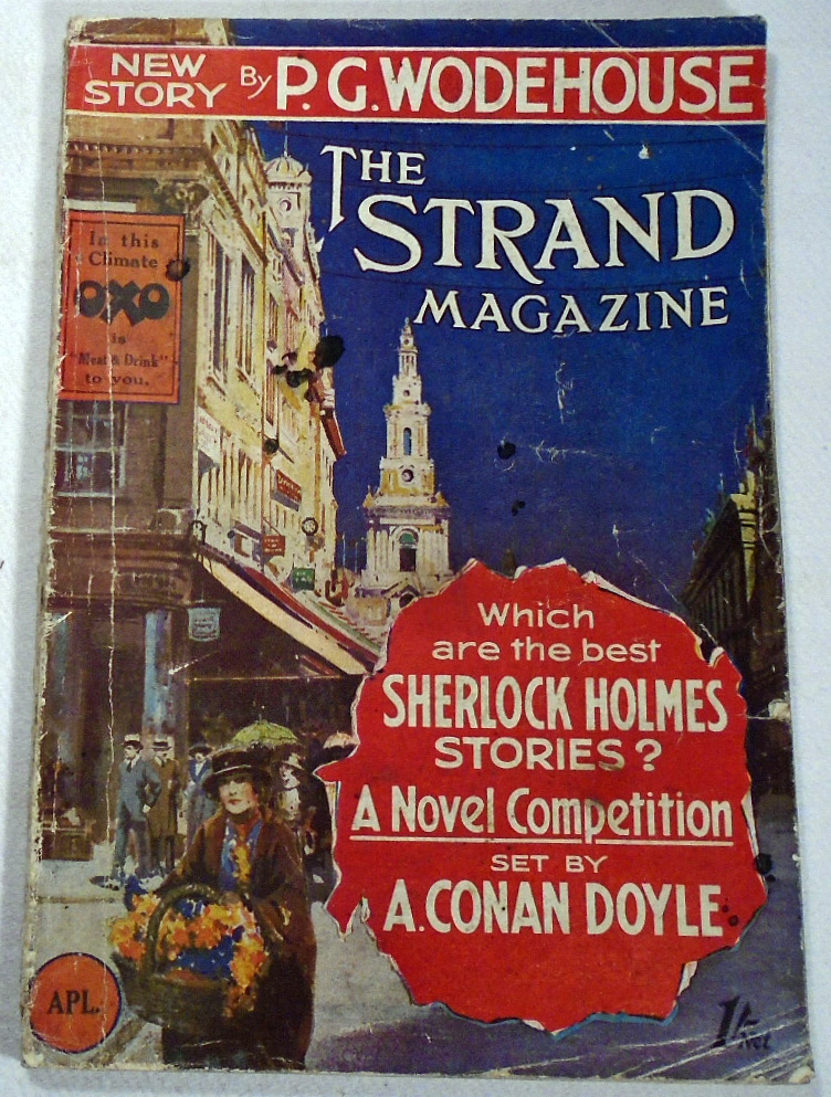 A Sherlock Holmes Competition, Mr. Sherlock Holmes To His Readers by A. Conan Doyle, as printed in The Strand Magazine, Volume 73, # 43 . April, 1927. Arthur Conan DOYLE.