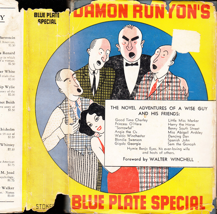 Blue Plate Special. Damon RUNYON