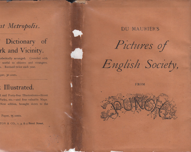 Pictures of English Society from Punch. George DU MAURIER