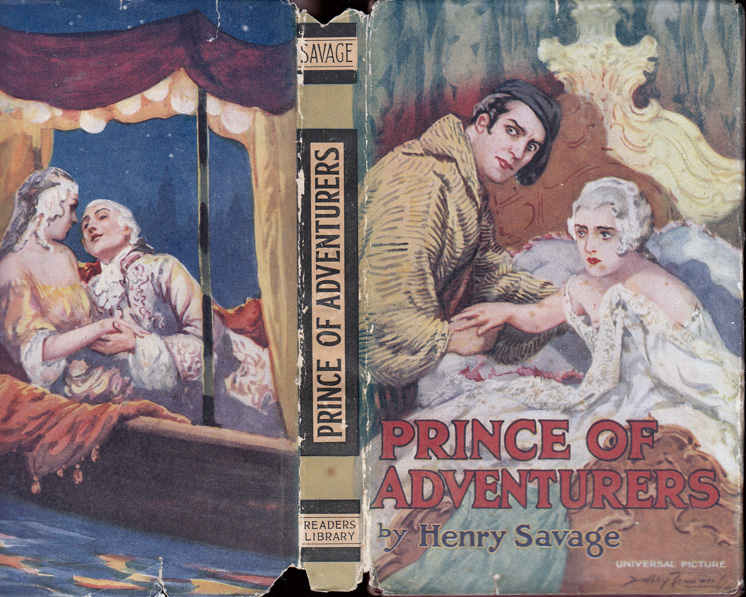Prince of Adventurers. Henry SAVAGE