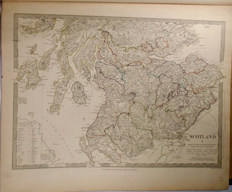 Three Maps of Scotland, Scotland I-III. Baldwin, Gradoc.