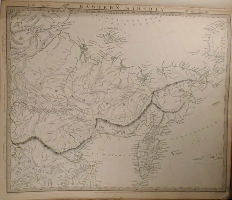 Map of Eastern Siberia. Baldwin, Gradoc