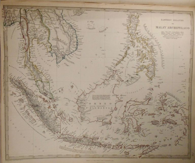 Map of Eastern Islands of Malay Archipelago. Baldwin, Gradoc