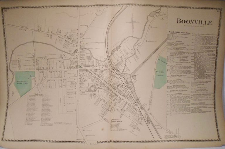 Map of Boonville, New York. D. G. BEERS.