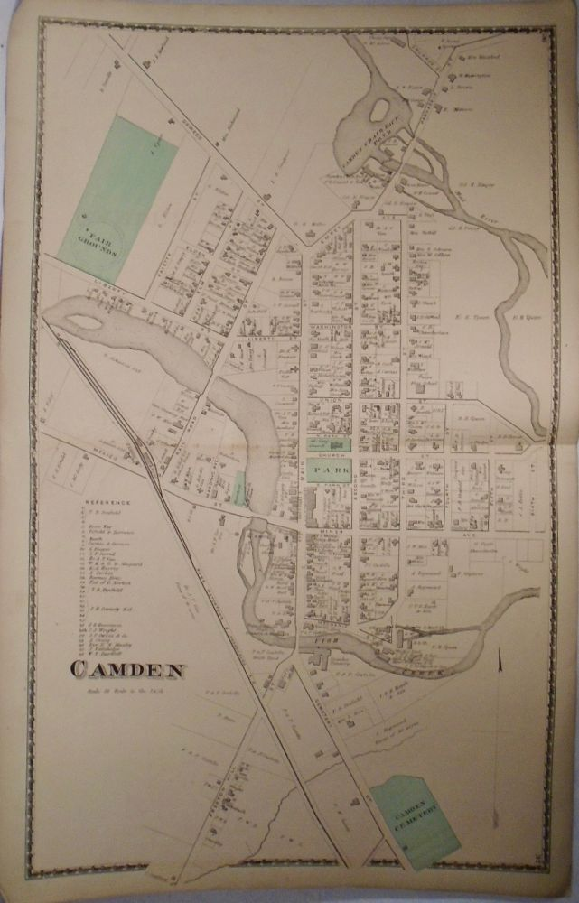Map of Camden, New York. D. G. BEERS