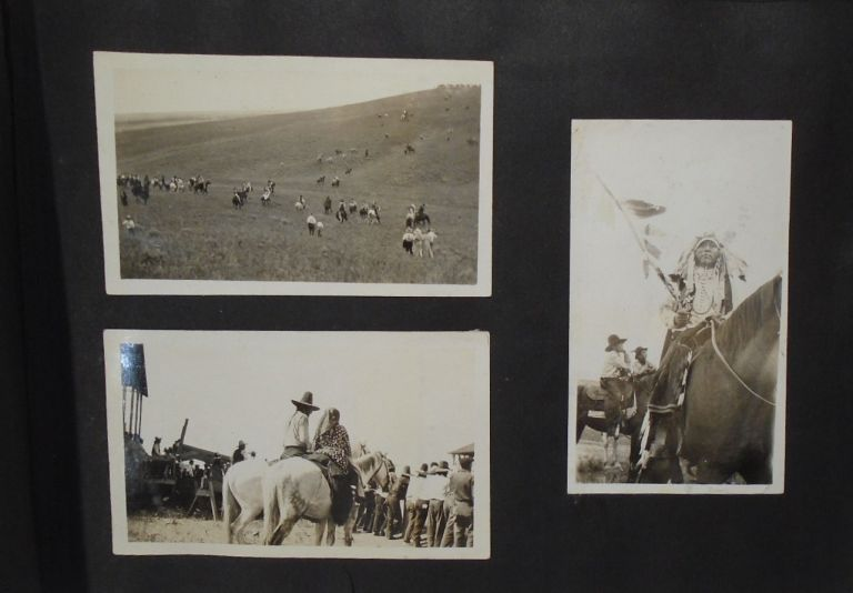 Photograph Album, 1910's: Native Americans; Alberta Canada; Niagra Falls and Southwest. PHOTO ALBUM