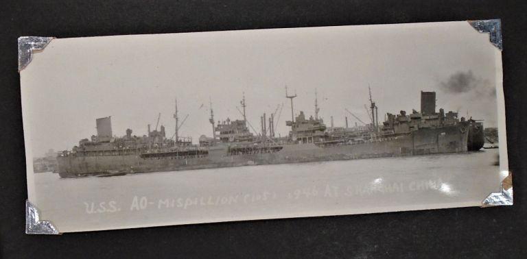World War Two Photograph Album: Navy Seaman, Sailors, Shanghai. NAVY PHOTO ALBUM