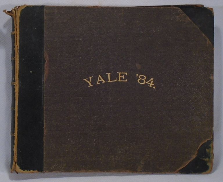 Yale College Yearbook and Order of Exercises at the Commencement of Yale College, 1884. Edward W....