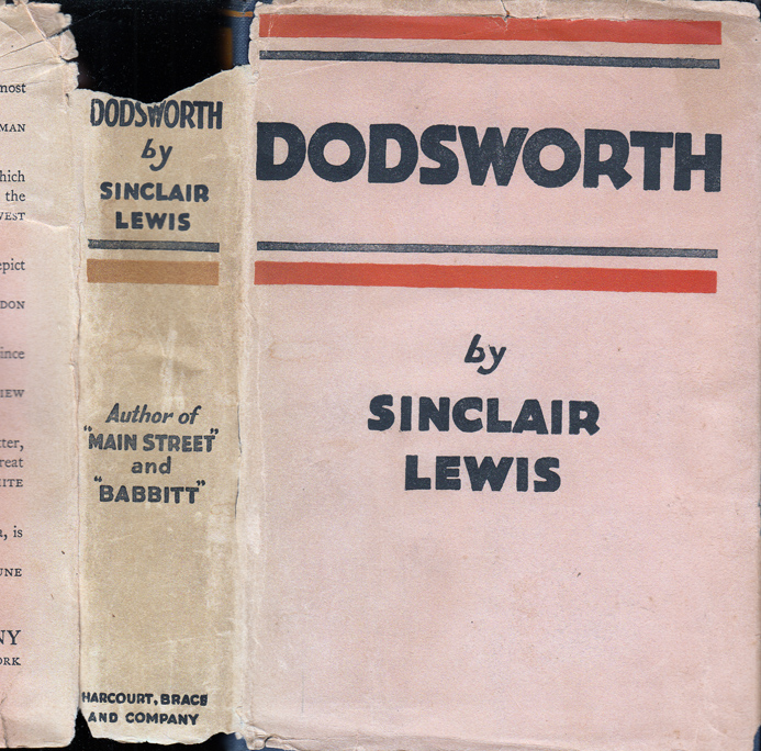 Dodsworth. Sinclair LEWIS