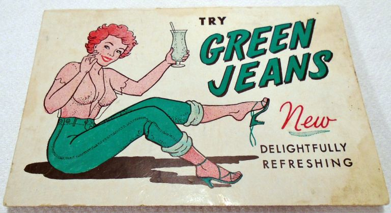Try Green Jeans / Get a Pair of Red Britches (COCKTAIL RECIPES). Jock COLLING.