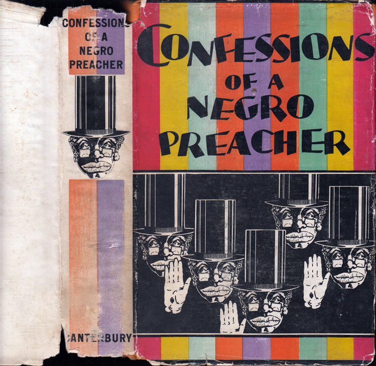 Confessions of a Negro Preacher. ANONYMOUS, Opie Percival Reed