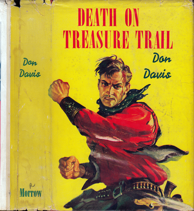 Death on Treasure Trail. Brett HALLIDAY, pseudonym, Don DAVIS