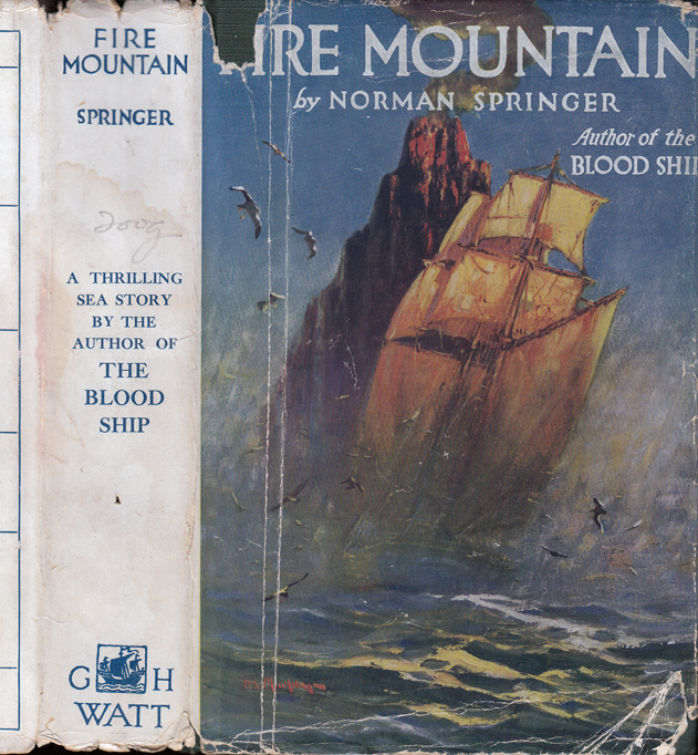 Fire Mountain. Norman SPRINGER.