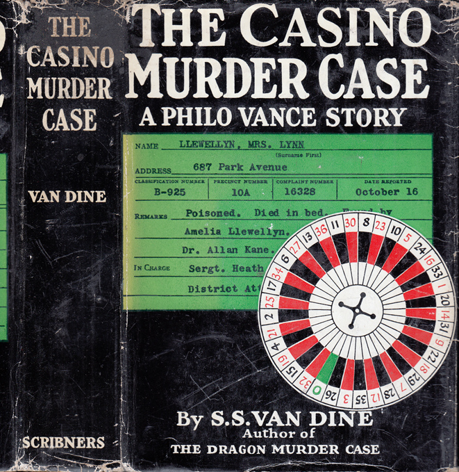The Casino Murder Case. S. S. VAN DINE