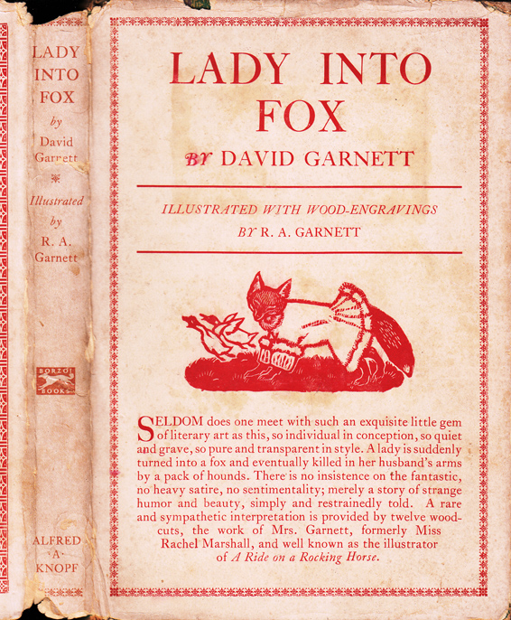 Lady Into Fox. David GARNETT