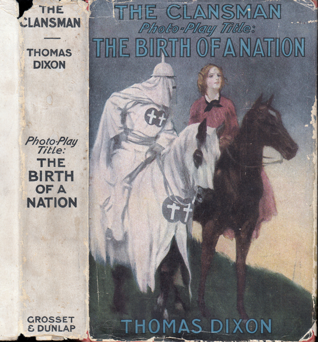 The Clansman. Thomas DIXON.