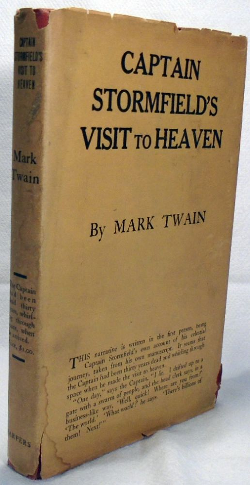 Captain Stormfield's Visit to Heaven. Mark TWAIN
