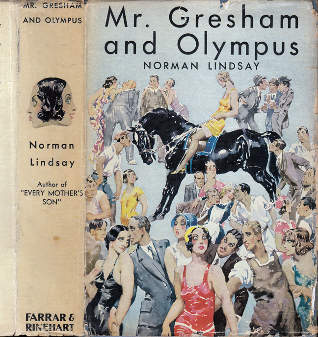 Mr. Gresham and Olympus. Norman LINDSAY.