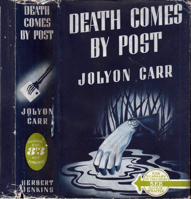 Death Comes By Post. Jolyon CARR, Ellis PETERS, Edith Pargeter.