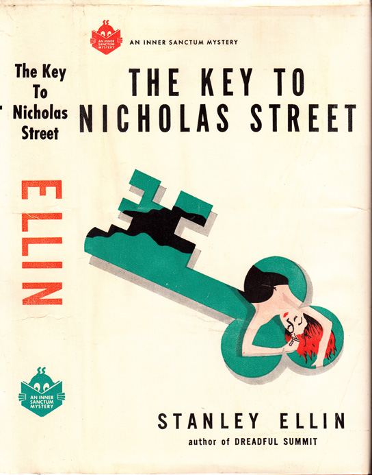 The Key to Nicholas Street. Stanley ELLIN