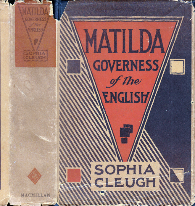 Matilda, Governess of the English. Sophia CLEUGH