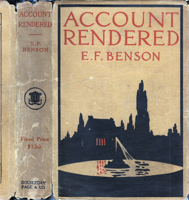 Account Rendered. E. F. BENSON