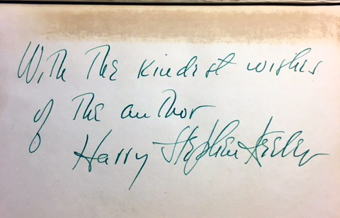 The Box From Japan [SIGNED AND INSCRIBED]. Harry Stephen KEELER